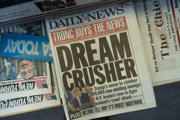 New York Daily News despide al 50% de su personal editorial